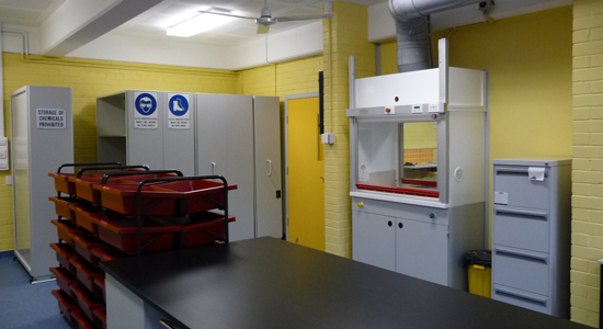 NSW High School laboratories cleaned by GBS COmmercial Cleaning